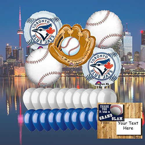 Toronto Blue Jays 25 Piece Balloon Set (Toronto Blue Jays Pieces)