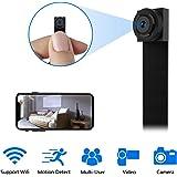 Mini Camara Espia WiFi,1080P DIY Cámara Oculta IP 2.4Ghz Vigilancia Portátil Secreta Compacta con Detector de Movimiento…