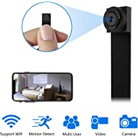Mini Camara Espia WiFi,1080P DIY Cámara Oculta IP