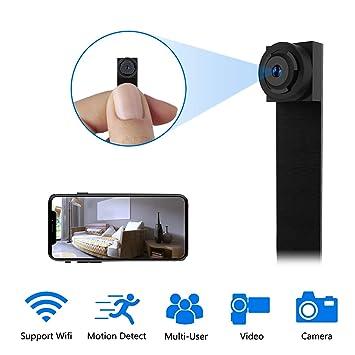 Mini Camara Espia WiFi,1080P DIY Cámara Oculta IP 2.4Ghz ...