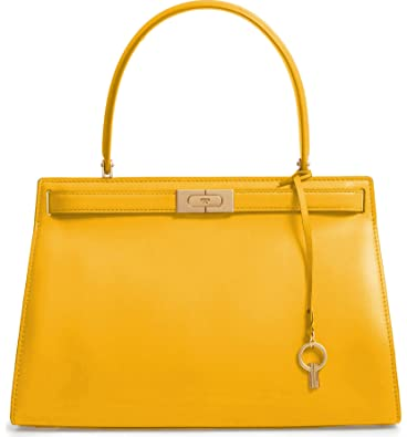 280a65ceb620 Amazon.com: Tory Burch Women's Lee Radziwill Daylily Leather Satchel Handbag:  Shoes