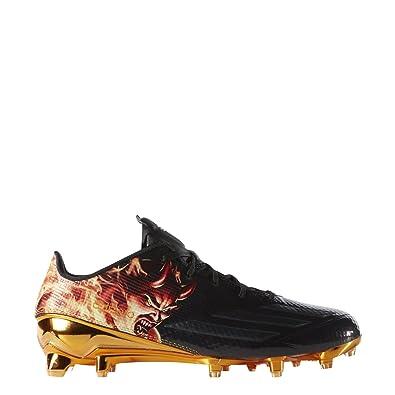 size 40 4a5f4 fc443 Adidas Adizero 5Star 5.0 Uncaged Mens Football Cleat 8 Devil-Black-EQT  Orange