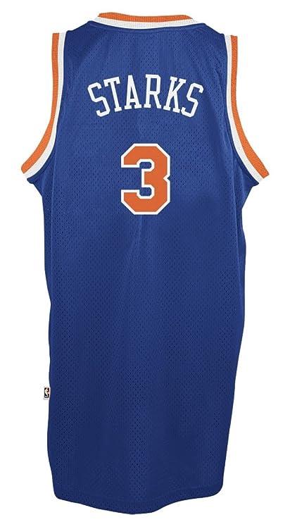 faa4d9eaf17 Amazon.com   adidas York Knicks  3 John Starks NBA Soul Swingman Jersey