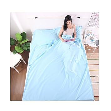 100% algodón travel Sheet cabaña Saco de dormir Saco de dormir interior para viaje y