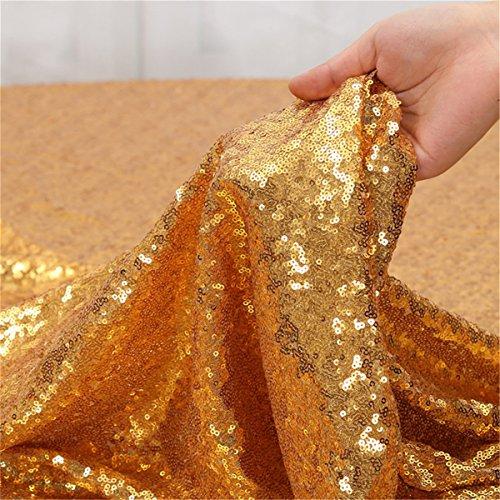 B-SHINE 35'' x 35'' Square Sequin Fabric Spark