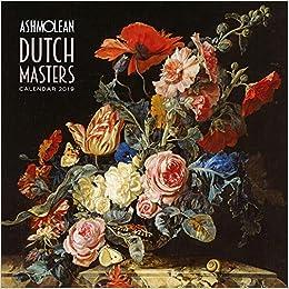 Ashmolean Museum - Dutch Masters Wall Calendar 2019 (Art