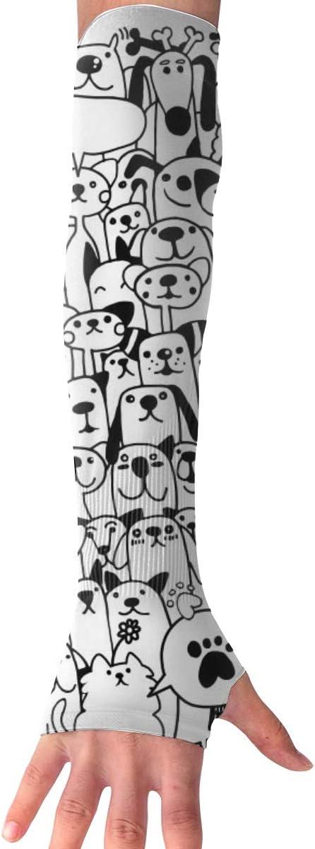 MASDUIH Cats Dogs Gloves...