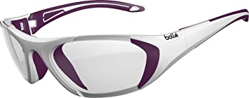 Bollé Kinder Baller Sonnenbrille, Black/Green Strap, Medium