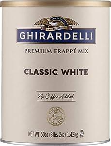 Ghirardelli Beverage Mix, Classic White 50 Ounce.