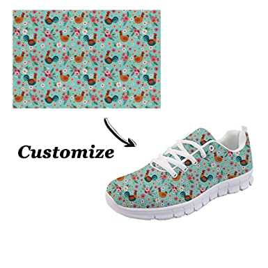 a316d1b57ae32 Showudesigns Custom Women Sport Shoes Teen Girls Trainers Customize Running  Sneaker Custom Make Outdoor Walking Shoes