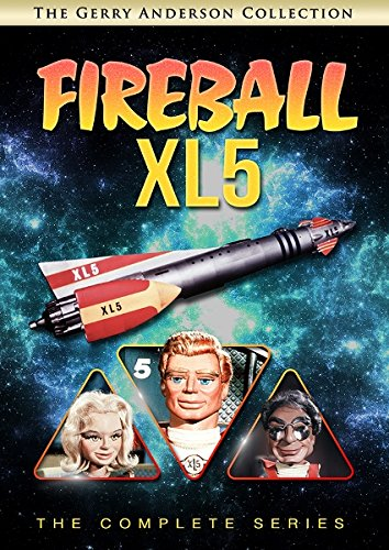 DVD : Fireball XL5: The Complete Series (Full Frame, 5 Disc)