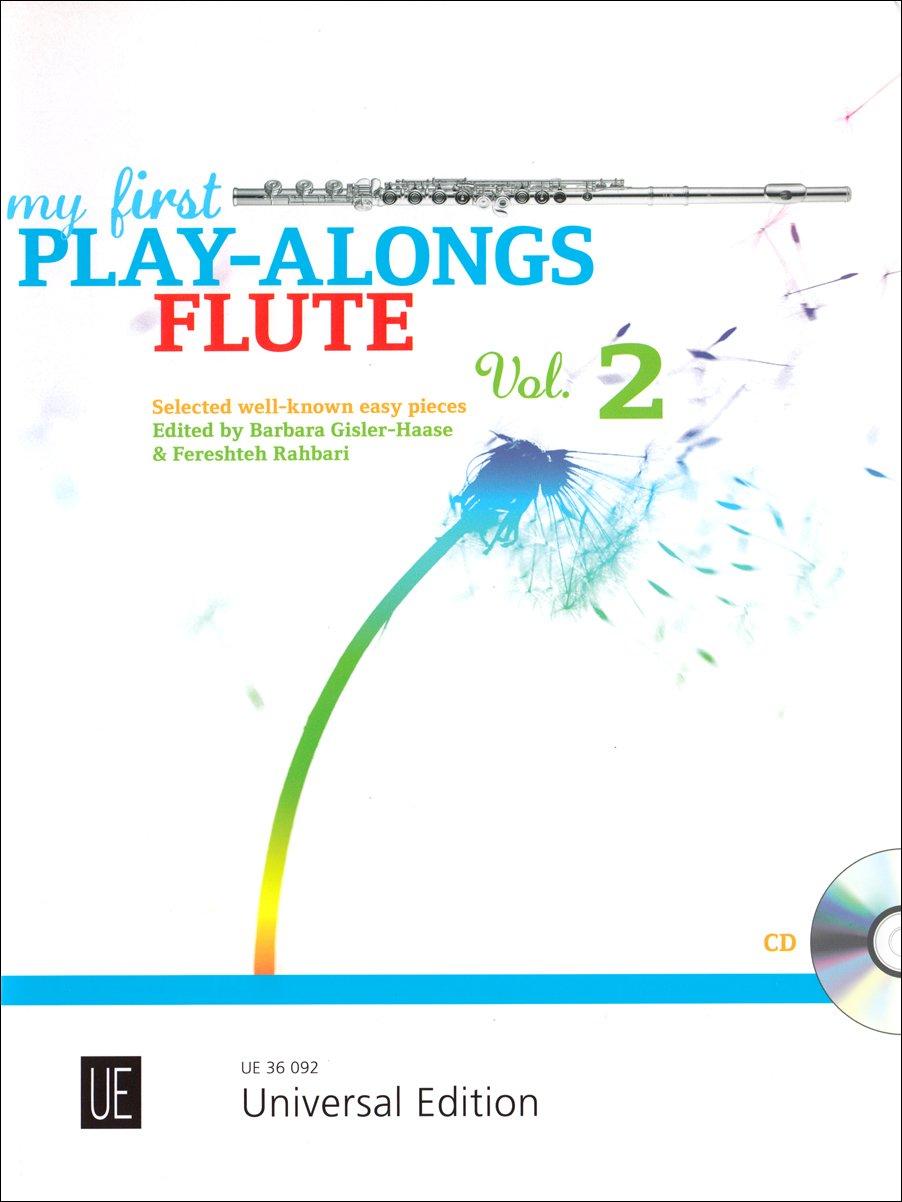 My First Play-Alongs für Flöte mit CD oder Klavierbegleitung: Erste bekannte Stücke aus Mini Magic Flute 2