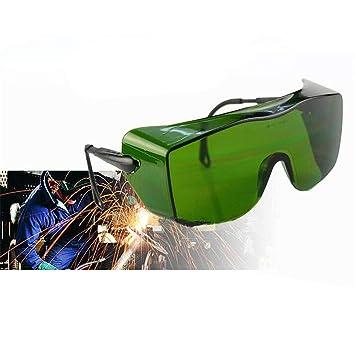 Gafas De Soldadura De Protección contra Gafas De Soldadura, Gafas De Protección De Soldadura, Verde: Amazon.es: Hogar