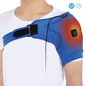 Doact Épaule Coussin Chauffant avec Accolade Enveloppante USB Électrique  pour Hommes et Femmes Articulation CA Congelée 5468ce928f0