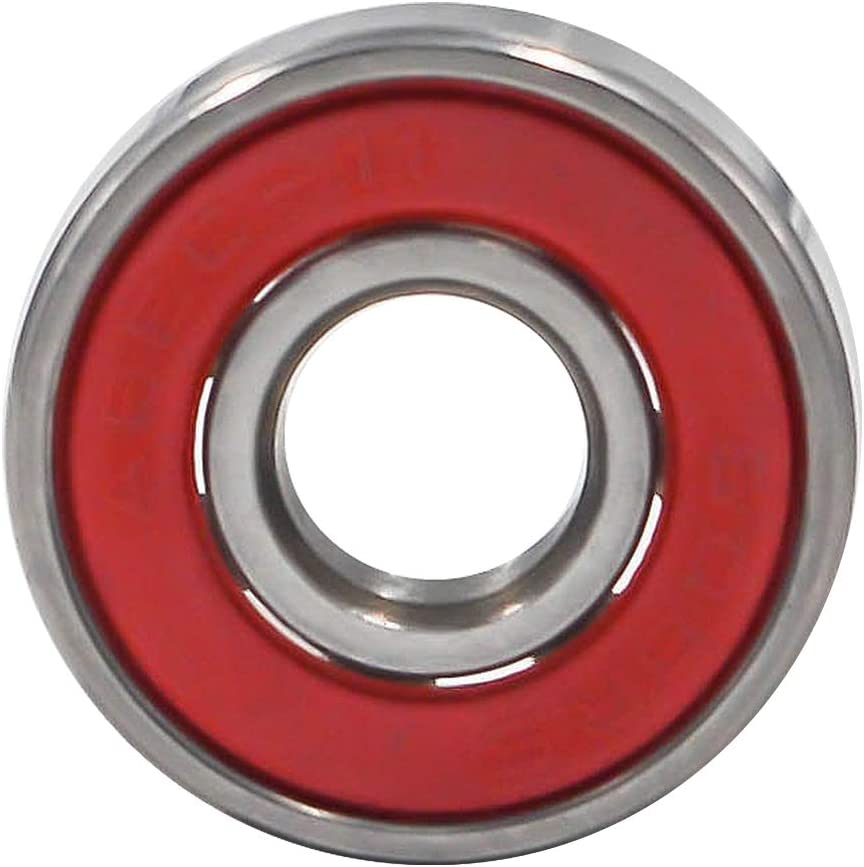 Roller Skates /& Spinners Scooters Inline Skates Antrader 608RS Ceramic Ball Bearing 8mm x 22mm x 7mm Double Rubber Shielded Deep Groove Bearings for Skateboards