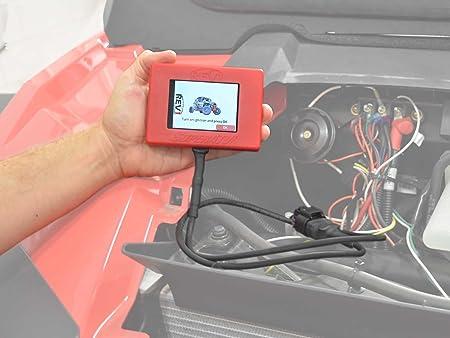 Amazon com: SuperATV Hand Held ECU Tuner for Polaris RZR XP