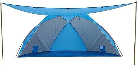 Tenda da Spiaggia Blu 270 x 120 x 120 cm Explorer Blau//Grau