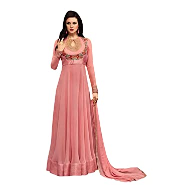 5546329d65 Amazon.com: Bollywood Bridal Long Anarkali Suit Gown Party Wedding Wear  Women Muslim Ceremony Festival By Ethnic Emporium 348: Clothing