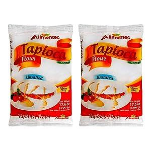 Alimentec Tapioca Flour Hydrated Gluten Free 17.6 oz ( Pack of 2 )