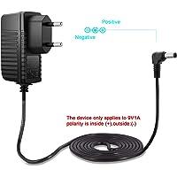 Aukru Chargeur d'alimentation 9 V 1000mA 5,5 x 2,1 mm Pour Arduino Uno REV 3
