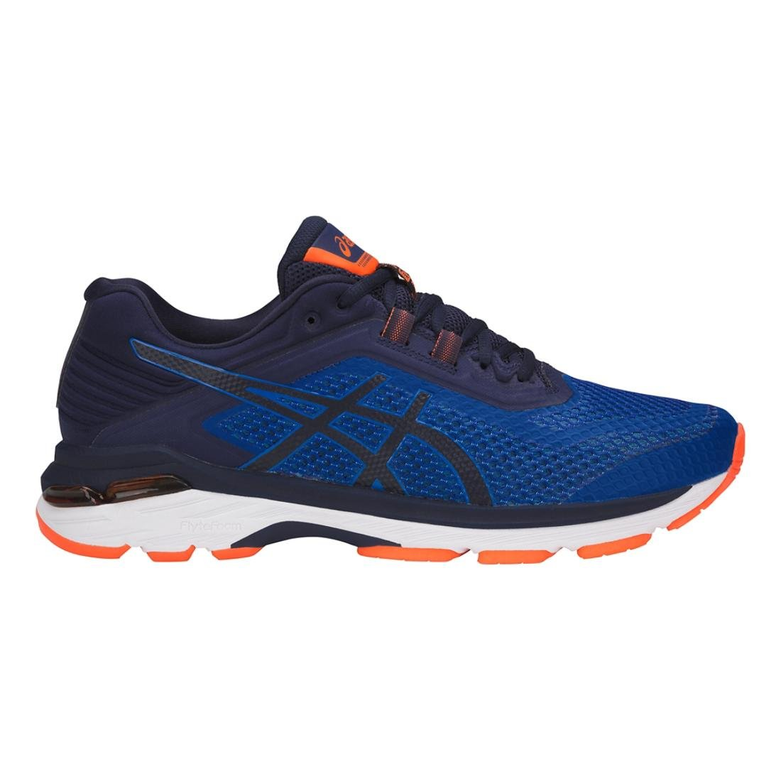 ASICS Mens GT-2000 6 Running Shoe - Color: Imperial/Indigo (Regular Width) - Size: 7.5