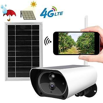 Amazon.com: 4G Solar Camera, 1080P Outdoor Waterproof ...
