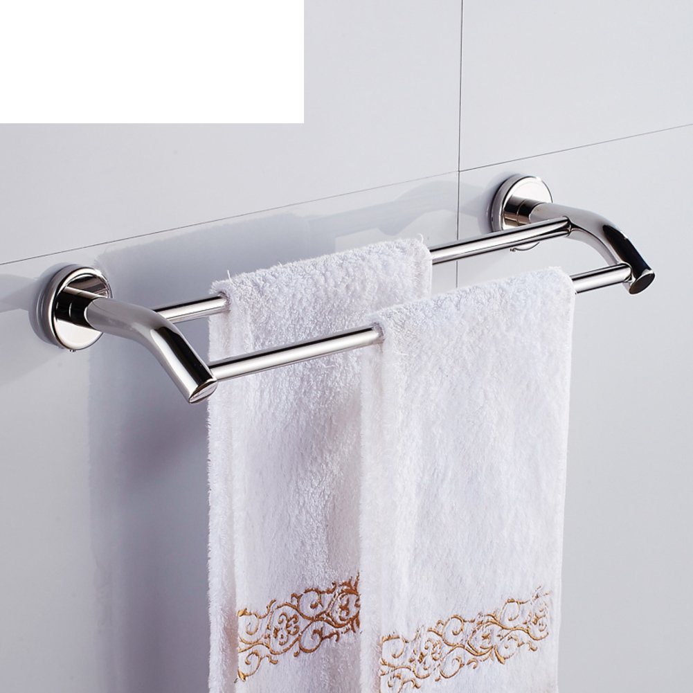 stainless steel towel bar double towel bar the bathroom towel rack bathroom towel rack wall. Black Bedroom Furniture Sets. Home Design Ideas