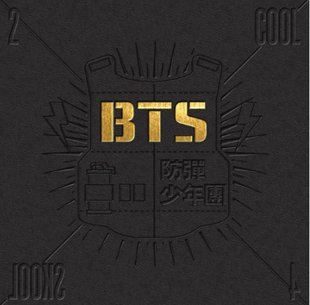 Bts Kpop Bangtanboys Single Album [2 Cool 4 Skool] Cd + Photobook by Amazon