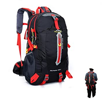 Amazon.com : Hiking backpack 40L Outdoor Backpack, Breathable ...
