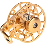 Ice Fishing Reel Full Metal Fly Spinning Line Raft Wheel Ice Reel Rock Skillful Fish Accessory For Outdoor Winter, Right/Left Hand