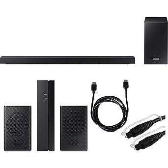Samsung Hw Q60r Sistema De Barra De Sonido Virtual De 360 W De 5 1 Canales Altavoces Traseros Incluidos Kit De Altavoces Traseros Inalámbricos Swa 8500s Za Cable Hdmi De 5 9 Ft Y Cable