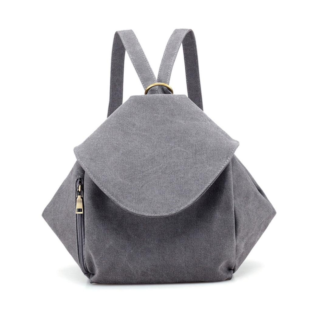 Mochila Mujer, ZARLLE Moda Al Aire Libre Bolsa Mochila Laptop Backpack Suave Bolso Bolso Para Mujer Bolso Mochila Mujer Mochilas Vintage Mochilas De Moda Beige)
