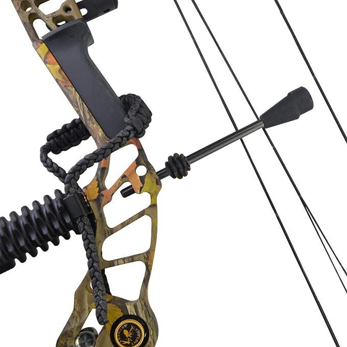 VGEBY1 String Stop Bracket Compoundbogen String Stabilizer Archery Vibration Balance Bracket f/ür die Jagd