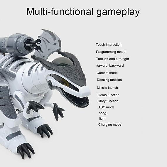 ZDY Inteligente Robot Dinosaurio,Programable Bailar Cantar ...