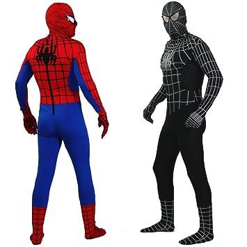 Catsuit Spiderman Kostüm Modell: Red Spiderman Größe: S: Amazon.de ...