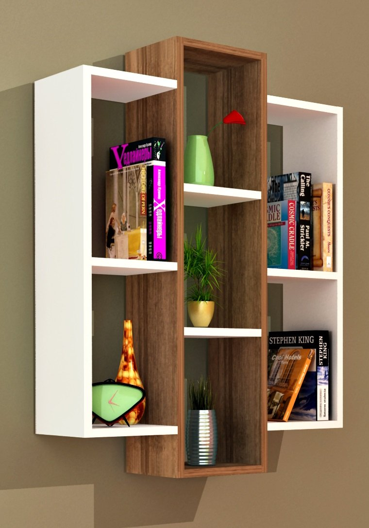 Wandregal modernes design  SOLID Wandregal - Bücherregal - Hängeregal - Dekoregal für ...
