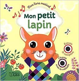 Amazon Fr Mon Livre Musical Mon Petit Lapin Des 18 Mois