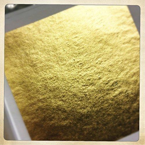 24ct Gold Leaf on base 100% Genuine 10 sheets Bling my shoes UK00003085705 Trademark...