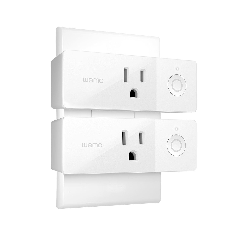 Amazon Wemo Mini Smart Plug Wi Fi Enabled Works with Amazon