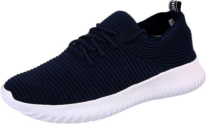 Qimaoo Zapatos para Correr en Montaña Asfalto Aire Libre ...
