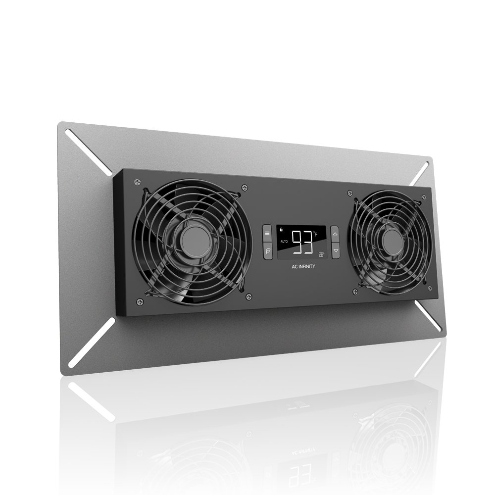 AC Infinity AIRTITAN T8-N, Crawlspace Basement Ventilator Fan, with Temperature and Dehumidistat Controller, IP-44 Rated, Intake by AC Infinity