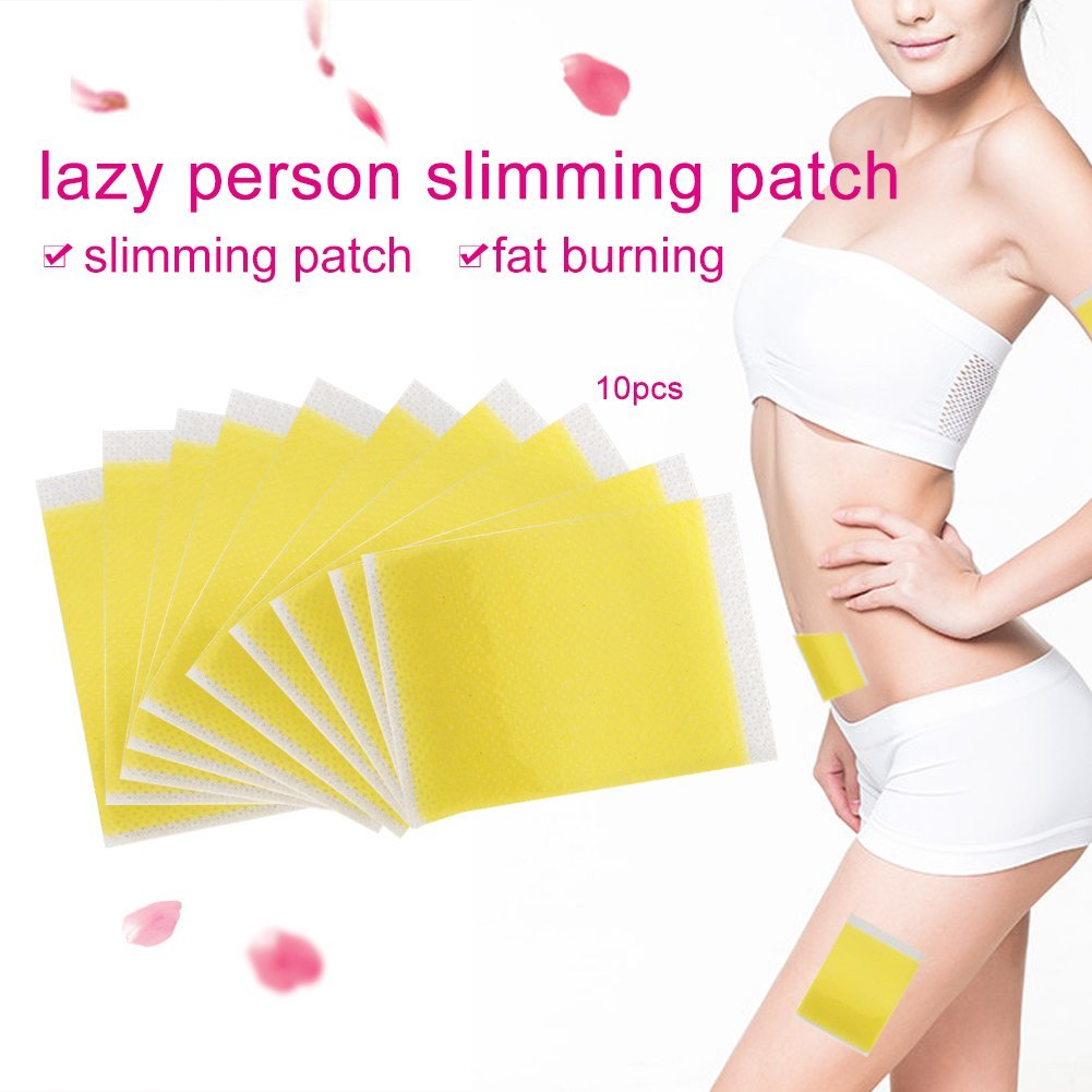 10Pcs Slimming Patches Navel Stick Weight Losing Fat Burning Patch Pad Adhesive Sheet Haofy