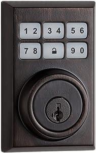 Kwikset 99100-083 SmartCode 910 Z-Wave Plus Contemporary Deadbolt, Venetian Bronze