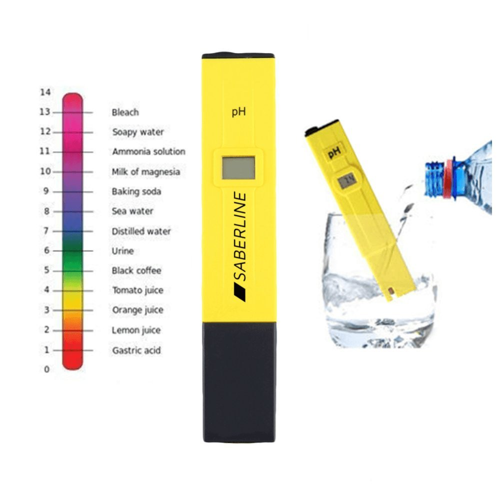 Amazon.com: Digital Pocket Size PH Meter Accurate Easy To Use Quality Tester For Lab, Home, Water Quality, Hydroponics, Swimming Pools, Spas, ...