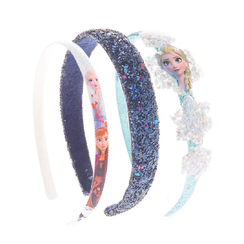 3 Pack Blue//White /©Disney Frozen 2 Headbands