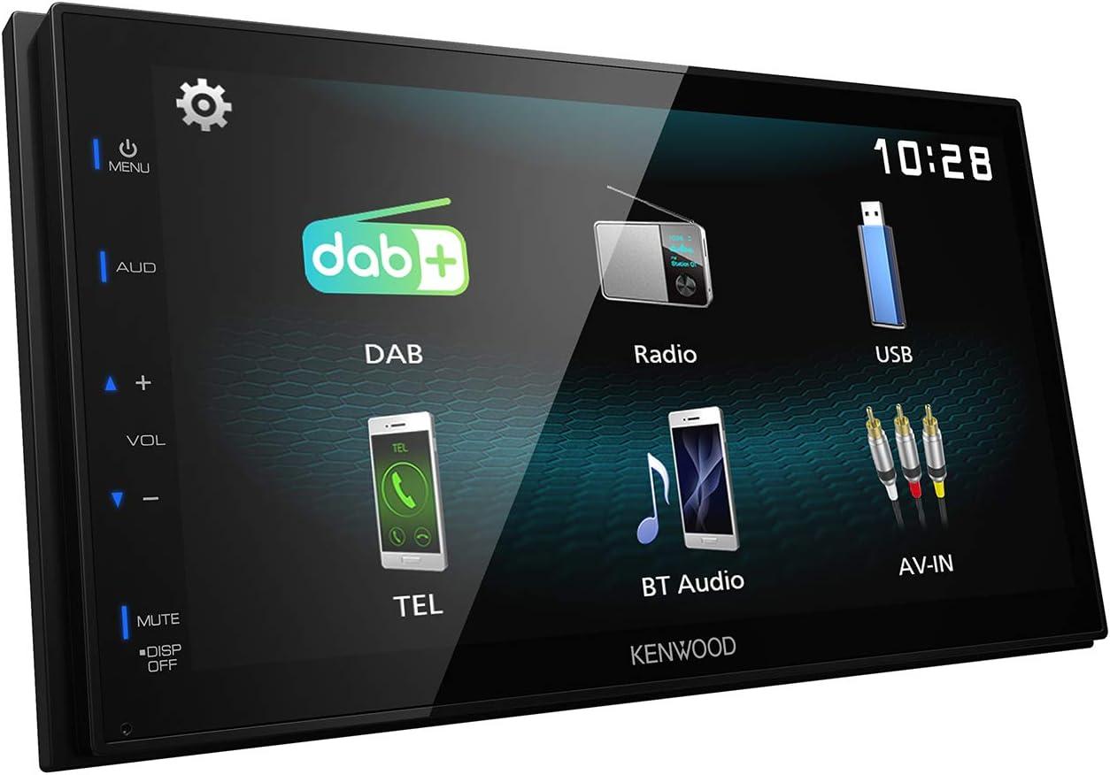 Kenwood Dmx125dab 17 3 Cm Wvga Digital Media Receiver Mit Dab Bluetooth Und Android Usb Mirroring Navigation
