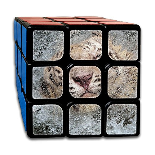 Tiger In Water Splash 3x3x3 Speed Cube ABS Environment-friendly Plastics Smooth Magic Cube Puzzles