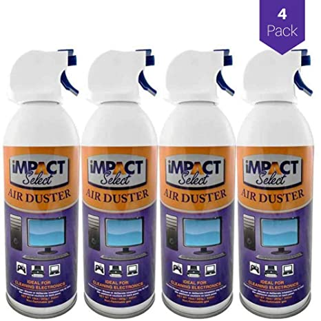 Amazon.com: Impacto Select Air Duster comprimido Canned Air ...