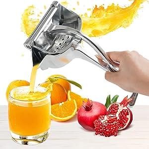 Lemon Squeezer, Meidong Lime Squeezer Heavy Duty Hand Juicer Premium Quality Metal Aluminum Alloy Citrus Squeezer for Oranges, Lemons, Lime, Grapefruit, Citrus, Grape Watermelon