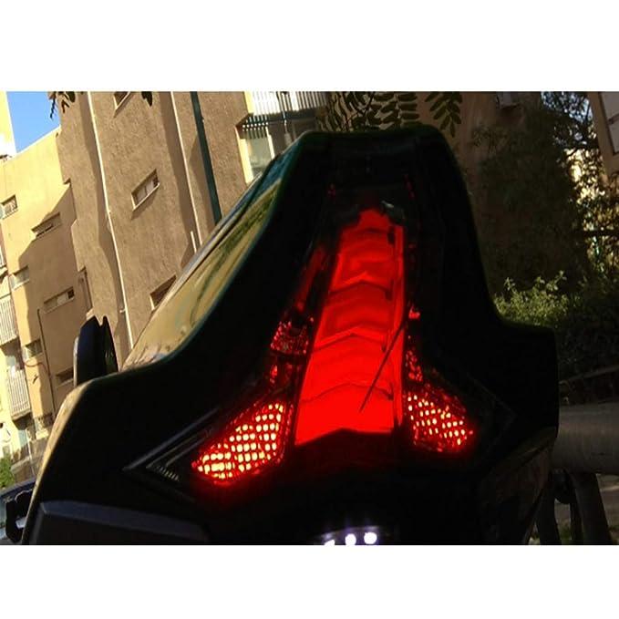 Luces traseras de motocicleta LED luz de freno para Kawasaki ...